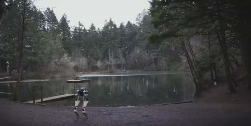 Как двуногий шагающий робот Cassie сделал свои первые шаги. [видео]