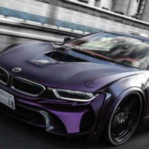 BMW модель i8: The Dark Knight Edition