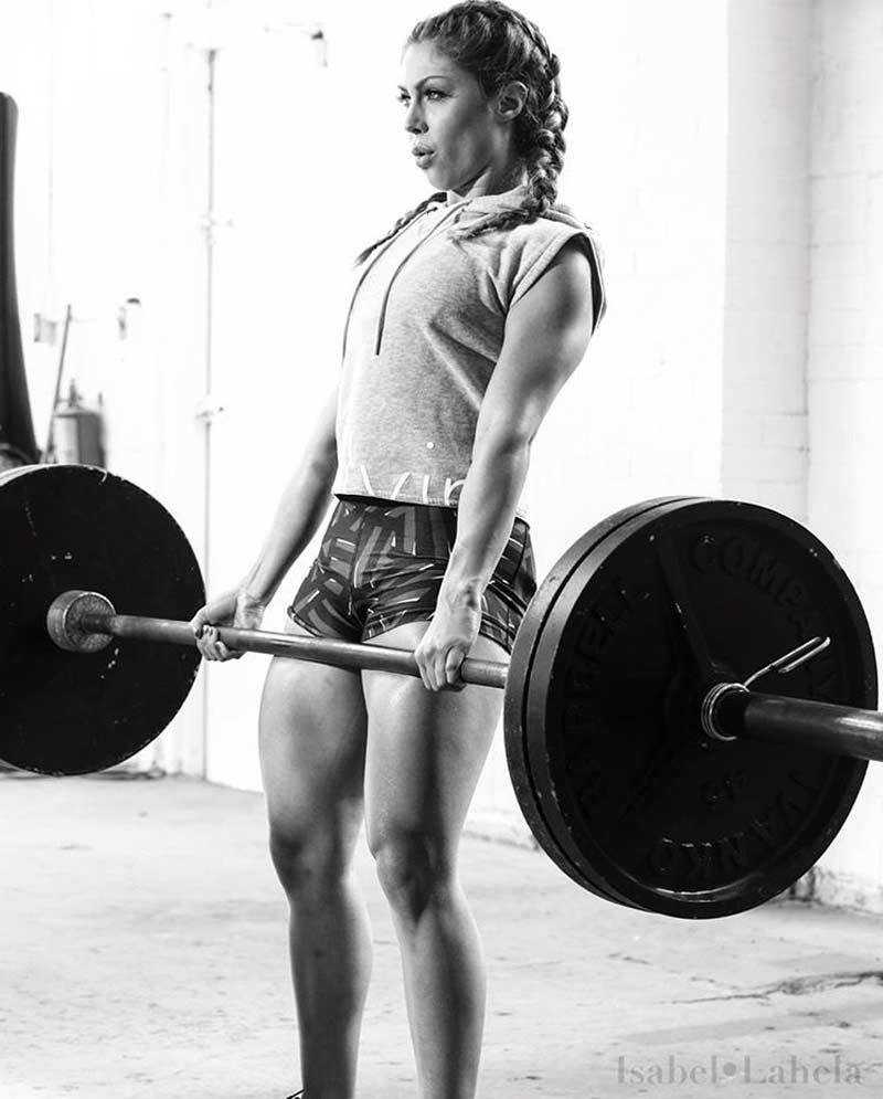 Изабель Лахела: немного фитнес мотивации для девушек.