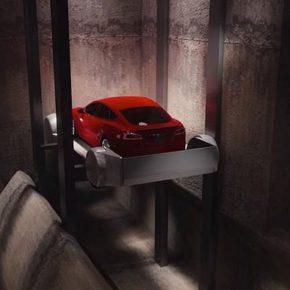 Как устроен лифт в скоростном подземном тоннеле от Илона Маска