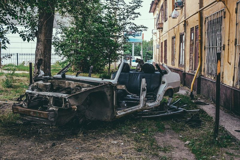 Народное творчество: антиутопия в снимках постсоветских городов