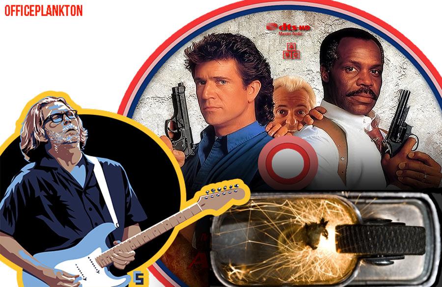 13 фактов о Zippo: Эрик Клептон и смертельное оружие 3