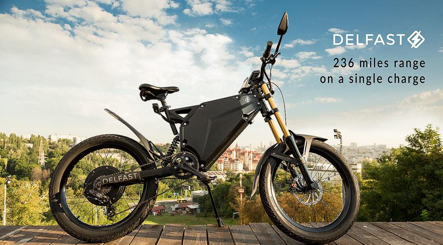 Электробайк с запасом хода 380 км и топовые украинские проекты на Kickstarter