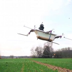 Ты удивишься, но это первая в мире летающая ванна