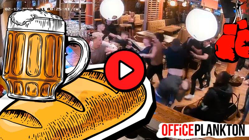 Хлеб со зрелищами: самые сочные массовые драки в общественных местах