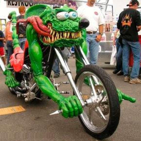 Странные и необычные мотоциклы, способные удивить своим внешним видом