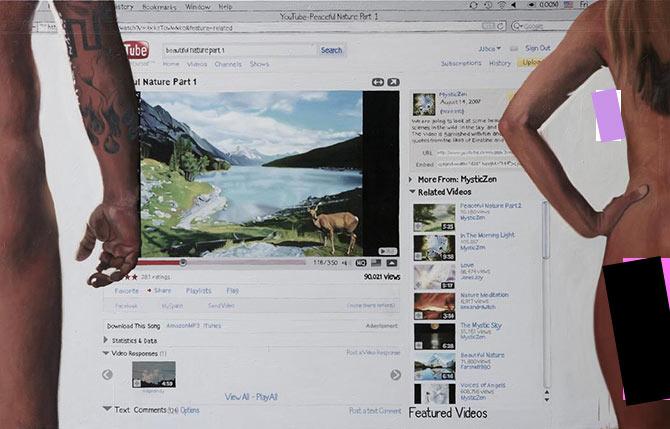 Цифровой троллинг: художник высмеивает популярные интернет-сервисы