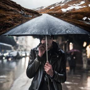 Сюрреалистические фотографии Джастина Питерса: все что ты можешь вообразить - реальность