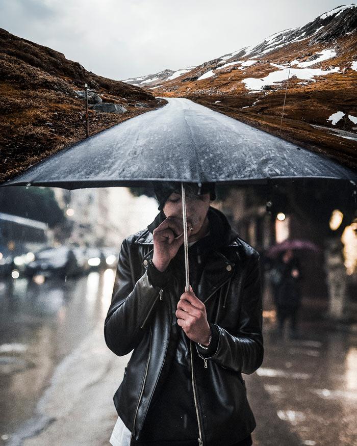 Сюрреалистические фотографии Джастина Питерса: всё, что можно вообразить — реально