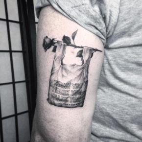Как же круто выглядят эти странные татуировки с оптическими иллюзиями